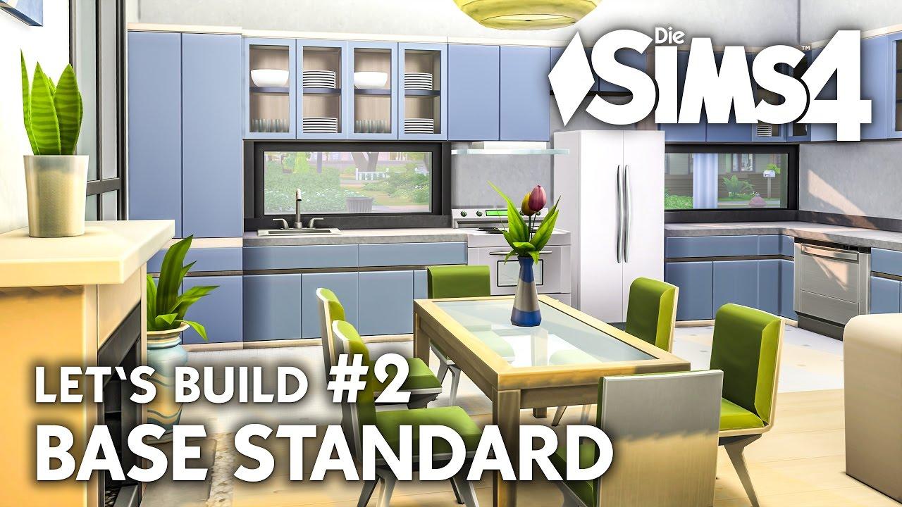 die sims 4 haus bauen ohne packs base standard 2 let 39 s build deutsch youtube. Black Bedroom Furniture Sets. Home Design Ideas