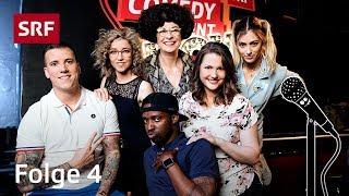 Comedy Talent Show 4/4 | Lisa Christ mit Helga Schneider & Charles Nguela | SRF Comedy