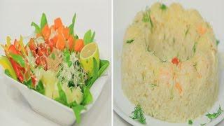 أرز بالسي فود - سلطة تونة بالسبانخ   شبكة و صنارة حلقة كاملة