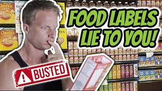 Busting 5 Misleading Nutrition Label Claims (THAT ARE FDA APPROVED)