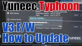Yuneec Typhoon V3 Firmware Update for OTA Software