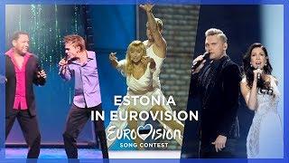 🇪🇪 Estonia in Eurovision - My Top 10 [2000 - 2018]
