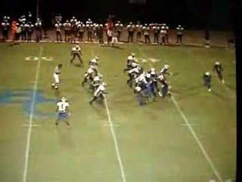 Rod Harris Football Highlights From Blinn College