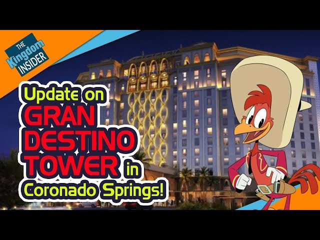 Disney's GRAN DESTINO TOWER at Coronado Springs and More | TKI Disney Newscast