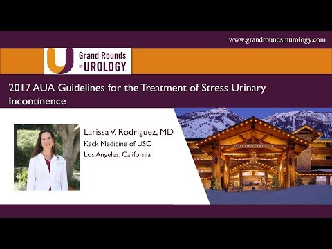 2017 AUA Guidelines For The Treatment Of Stress Urinary Incontinence