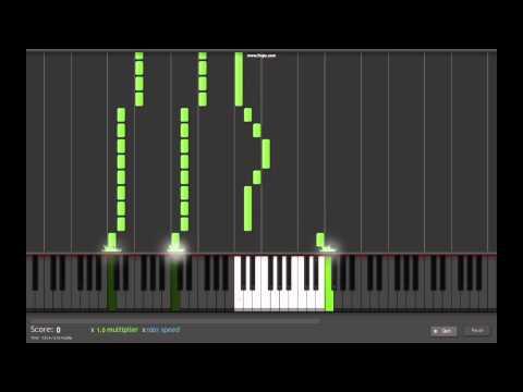 Fairy Tail Main theme on piano