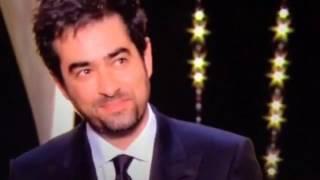 جایزه گرفتن شهاب حسینی در جشنواره کن