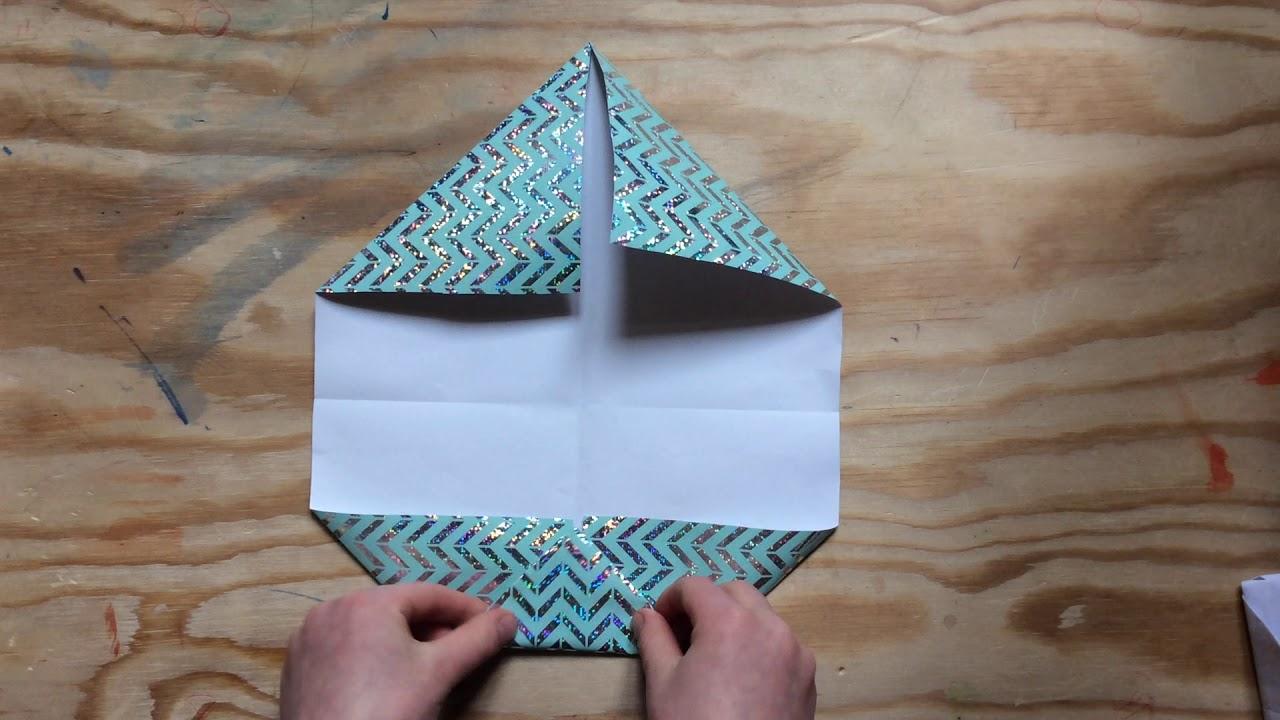 Ein Portemonnaie aus Papier falten - DIY - Origami