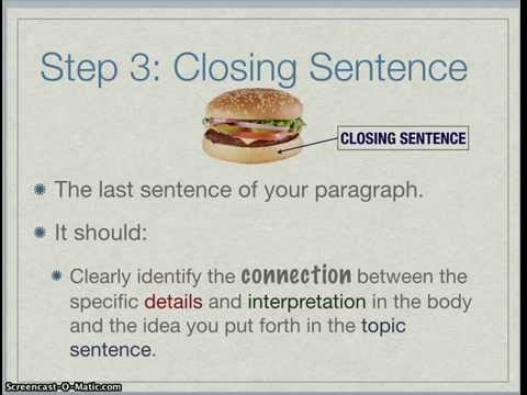 how to write a strong introduction paragraph