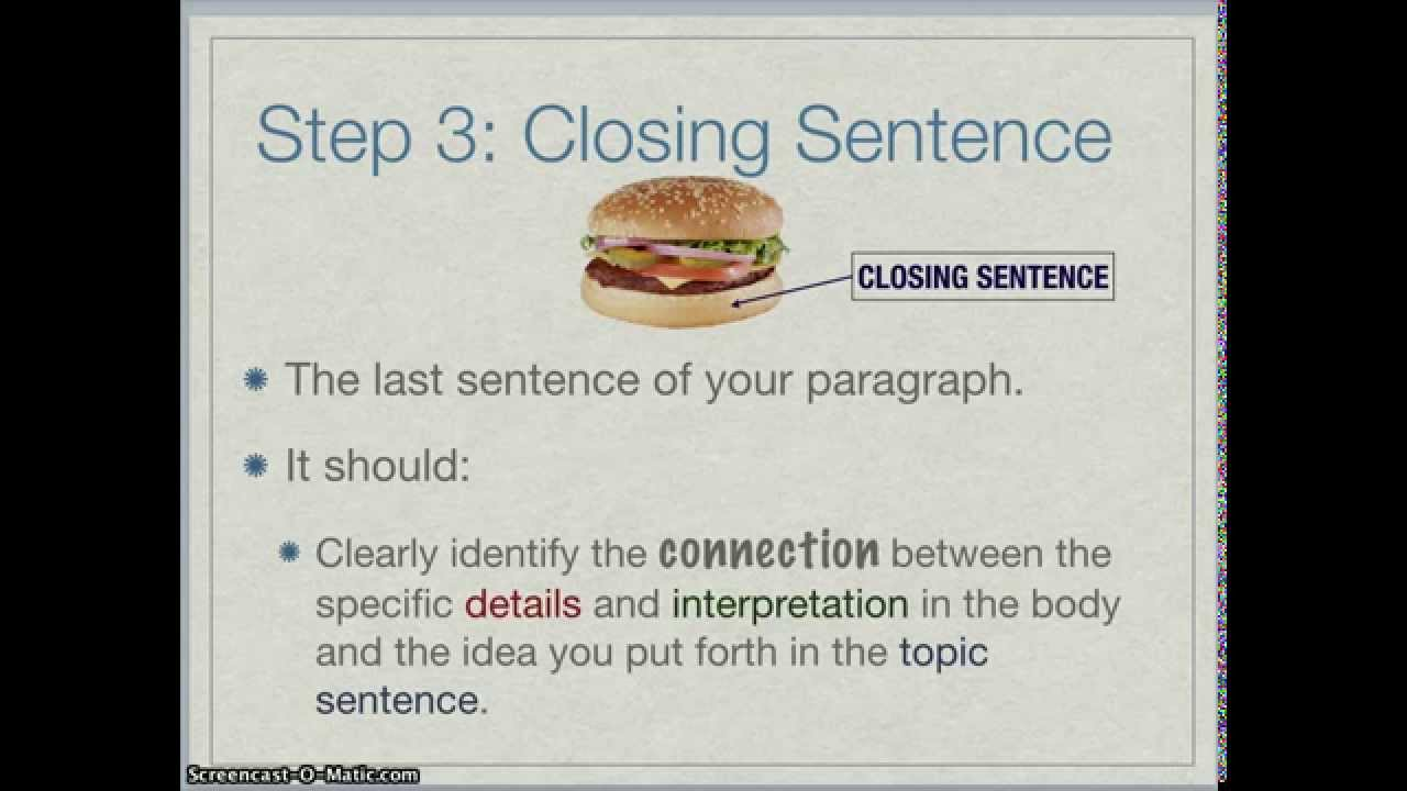 How To Write A Strong Paragraph