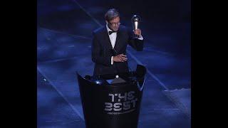 Jurgen Klopp reaction - The Best FIFA Men's Coach 2019