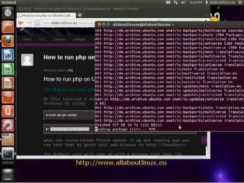 How To Run Php On Localhost Ubuntu