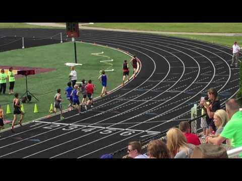 IESA 8AA Boys 1600m run 2016 State Finals