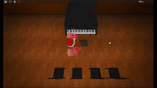 3 songs on ROBLOX piano!