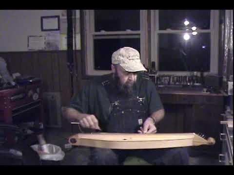 Mule Tracks on the Virginia Hogfiddle Kit Dulcimore