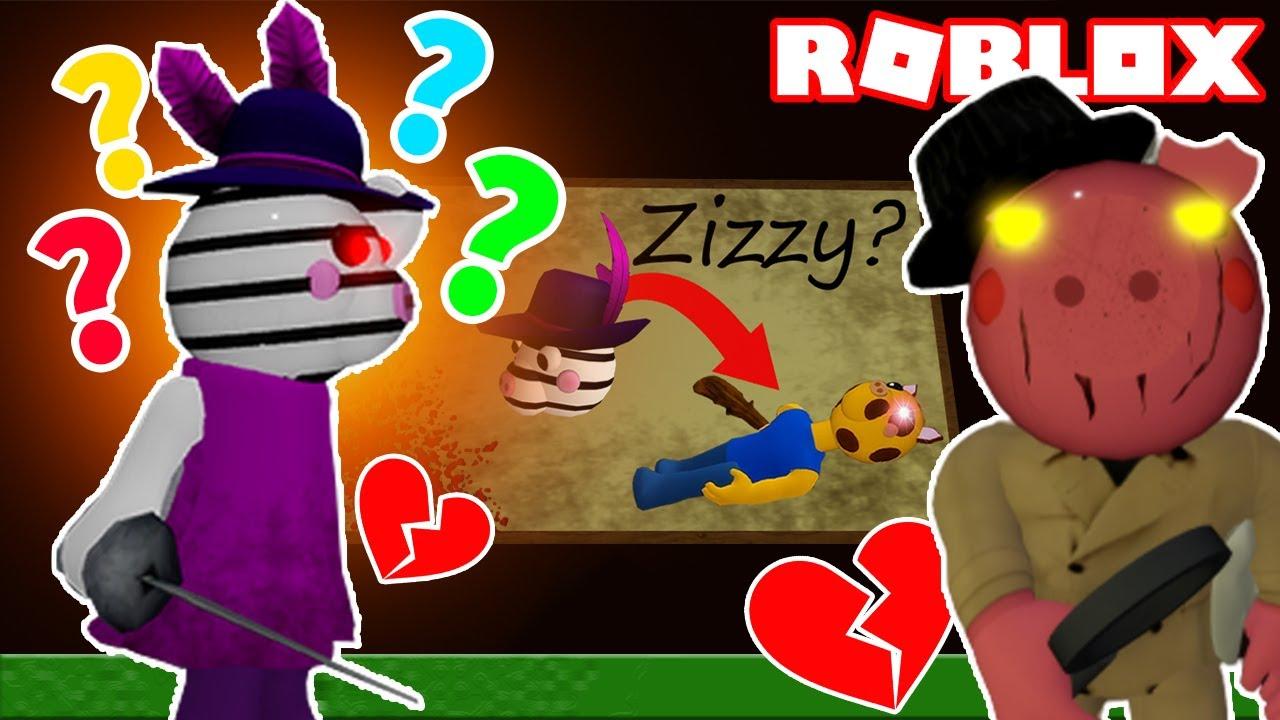 PIGGY - ZIZZY'S EVIL REVENGE? (Roblox Piggy Short)