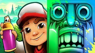 iGameBox🤩Which Better? Subway Surfers Bangkok Vs.Temple Run 2 HD Fullscreen* Gameplay For Kid #13