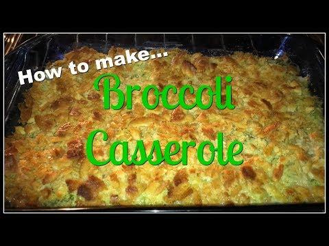 Broccoli Casserole For Christmas!