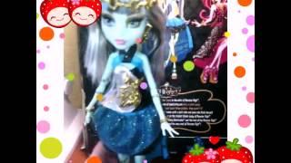 Обзор  куклы Френки Штейн из коллекции 13 желаний!