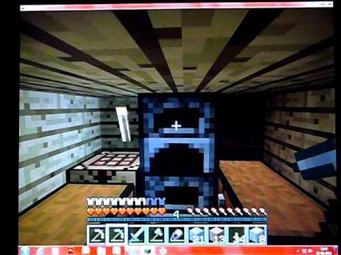 Minecraft hvordan man får Saks,Jernbarre,Ovn,Arbejdsbord,Jernhalm ...