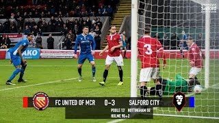 FC United of Manchester 0-3 Salford City - National League North 28/01