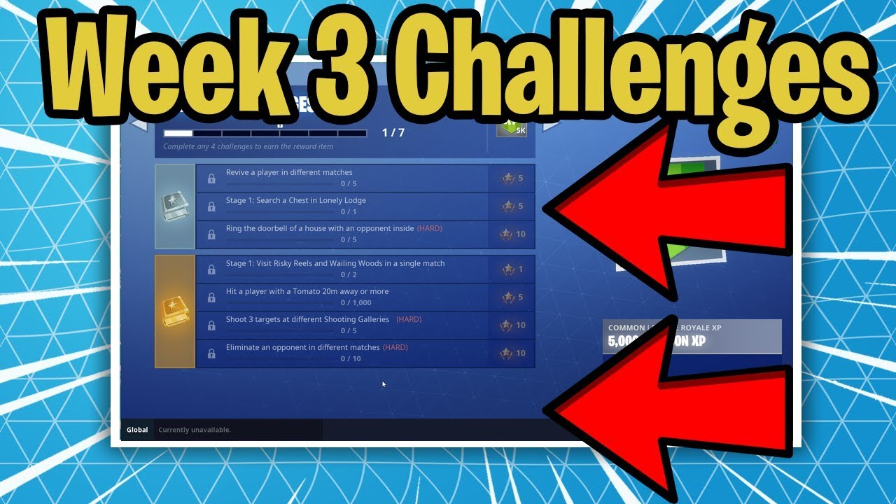 Fortnite Challenges Week 3 Season 6 Leaked Battle Pass Week 3