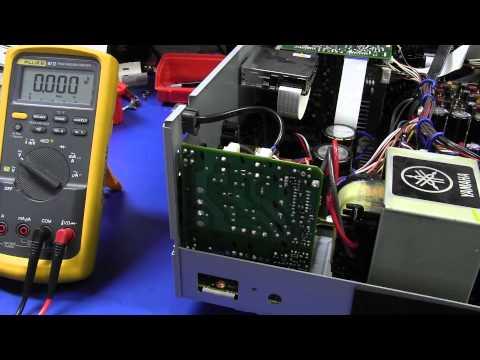 EEVBlog #379 - Yamaha RX-V557 Receiver Fix