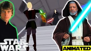 What if Anakin Skywalker Trained Luke and Leia 2 ANIMATED - Star Wars Theory