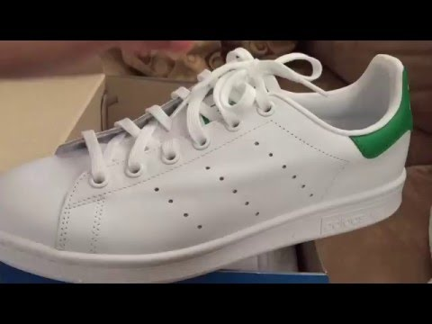 Adidas Stan Smith Kids (gs) Review  On foot - YouTube 092a456f0c