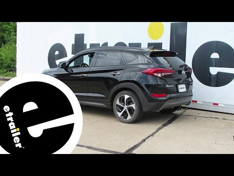 Hyundai Tucson Towbar Wiring Aug 2015 - Jun 2018 7P DEDICATED Towing Electric