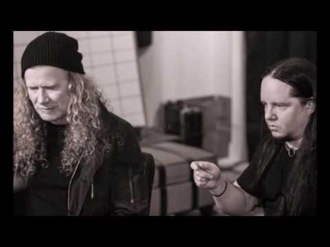 Ex-Slipknot + Vimic drummer Joey Jordison in studio with Dave Mustaine for Open Your Omen album!