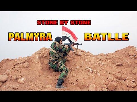 PALMYRA BLOODY BATTLE +18 Syria War