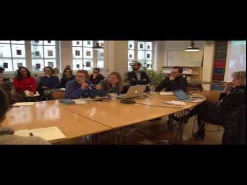Diffusion en direct de ENSCI-Les Ateliers