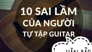 Vì sao tập guitar mãi không tiến bộ