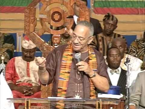 """Pastor Jeremiah A. Wright Jr preaching """"God Is On A Manhunt"""" at Union Temple Baptist Church"""
