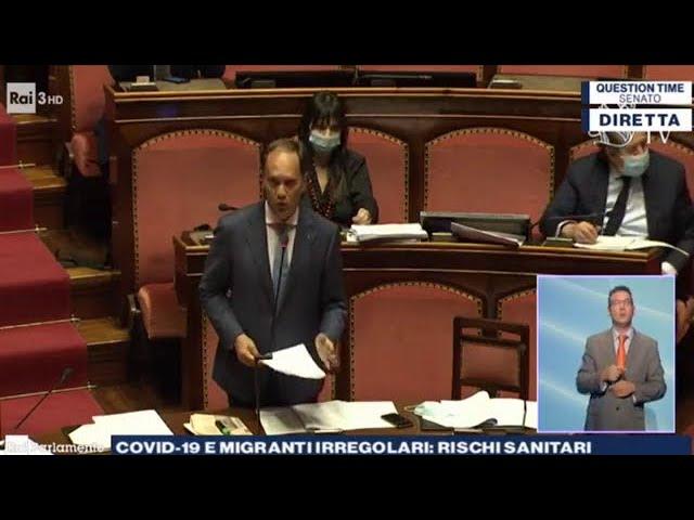 FdI Parlamento - Il Question Time del Senatore Luca Ciriani al Ministro dell'Interno