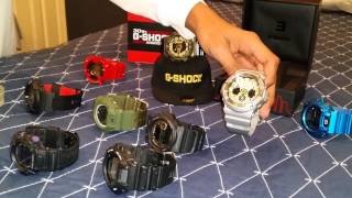 My gshock collection