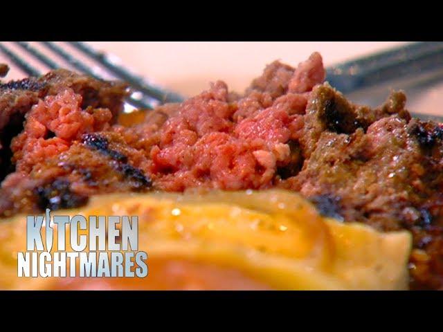 Gordon Ramsay Served A RAW Burger   Kitchen Nightmares