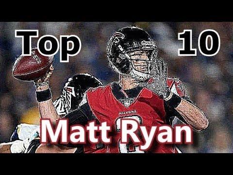Matt Ryan Top 10 Plays of Career