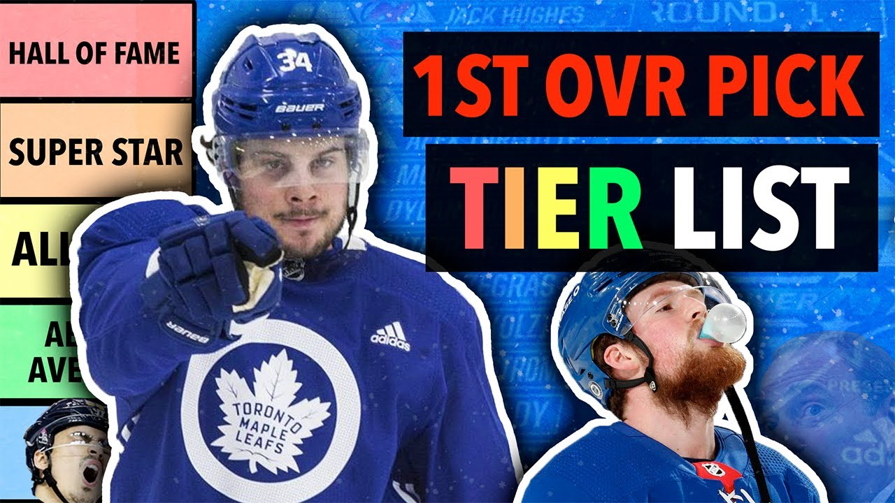 NHL 1st Overall Pick Tier List (2021)