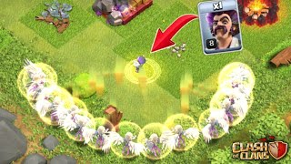1 Party Wizard + 18 Healer Attack $ New Troops Attack In Clash of Clans