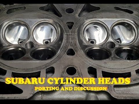 Subaru Heads.  Porting, differences and discussion,