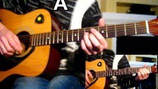 Воскресение - По дороге разочарований Тональность ( A ) Как играть на гитаре