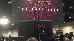 Star Wars show live - Hayden Christensen and Episode 8 Trailer