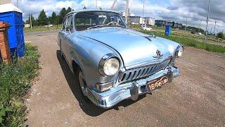 Культовый Советский Автомобиль 1960 ГАЗ-21 «Волга»!  Обзор И ТЕСТ-Драйв.