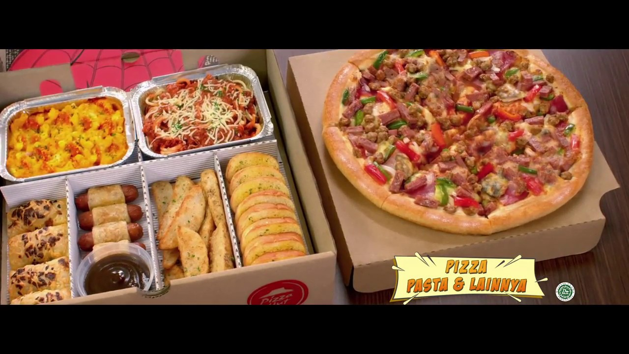 Pizza Hut Big Box Spider Man
