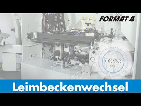 FORMAT-4 tempora: Leimbeckenwechsel in nur 55 Sekunden