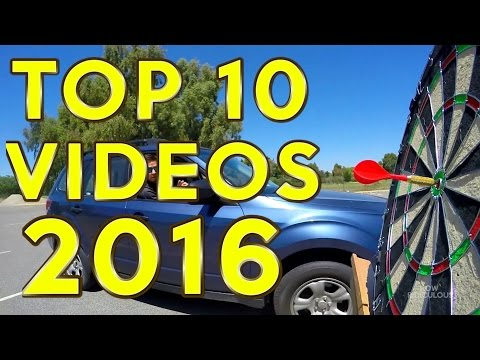 TOP 10 BEST VIDEOS OF 2016! | How Ridiculous