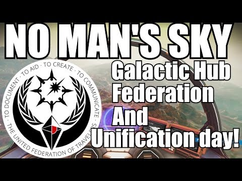No Man's Sky! Galactic Hub, Federation, Interview with Reddit mod 7101334!