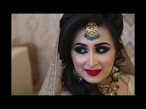 Arabic bridal makeup by KritiDS